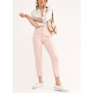 We The Free | Free People Pink City of Light Jeans